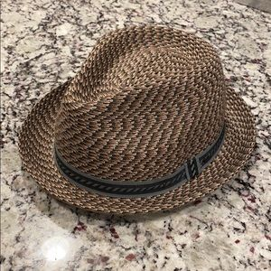 Bailey of Hollywood Fedora Orange Brown, Size XL